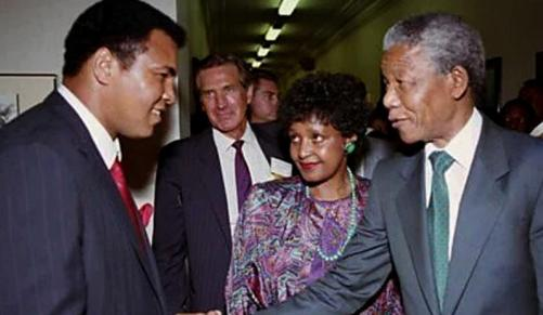 The Day Madiba Poured Tea for Ali